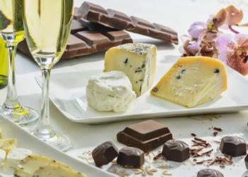 Association surprenante entre fromage et chocolat