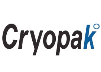 Le logo Cryopak, système de colis fraicheur