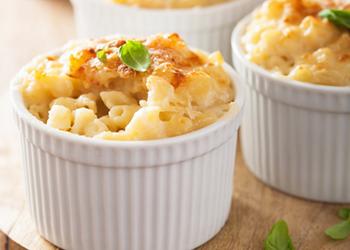 Le Gratin de Macaroni au Cantal de la Crèmerie Royale