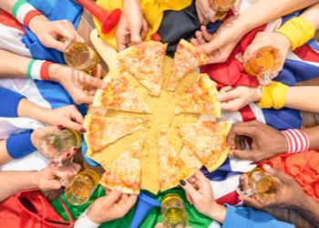 La Pizza 4 fromages spécial supporters de la Crèmerie Royale