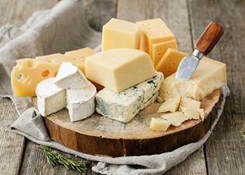 Plateau de fromages préférés des américains