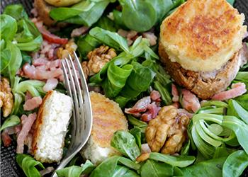 La Salade de chèvre chaud revisitée par la Crèmerie Royale