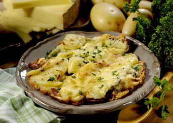 La Truffade Royale, recette au cantal et à la truffe