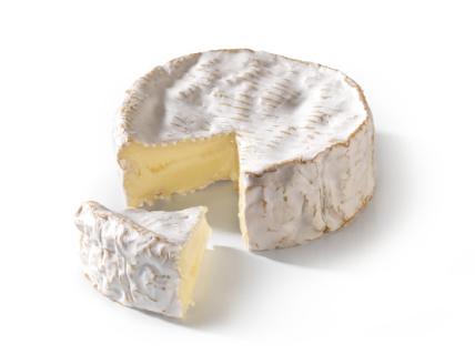 Le Camembert de Normandie AOP découpé