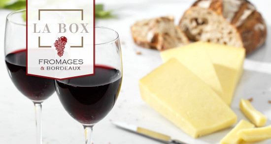 La Box accord avec un Vin de Bordeaux